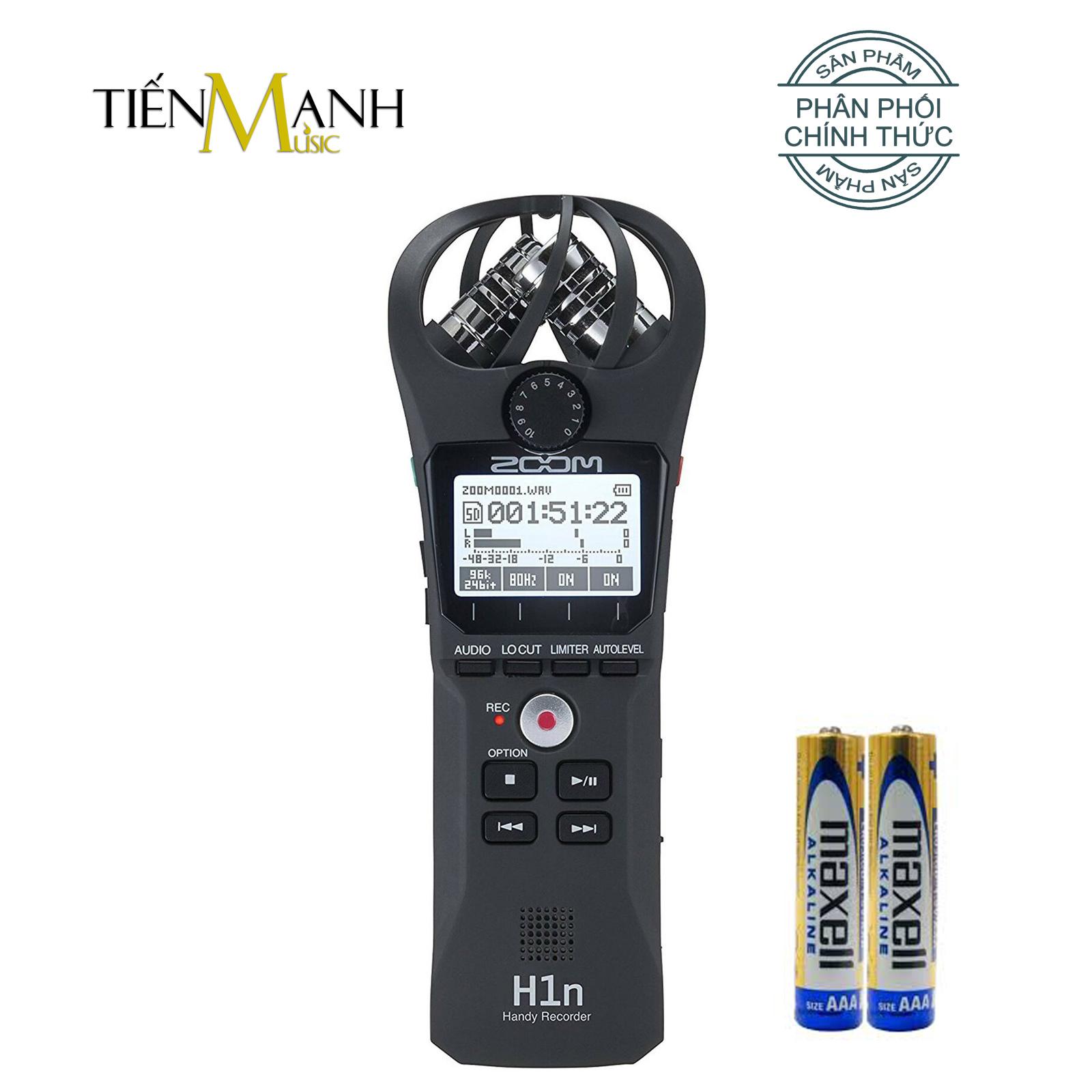 Máy Ghi âm Zoom H1n - Thiết bị thu âm cầm tay kỹ thuật số
