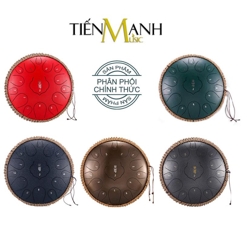 Trống Tank Huashu 15 Tone TD15 Steel Tongue Drum Lưỡi Thép Không Linh - Tiến Mạnh Music Phân Phối