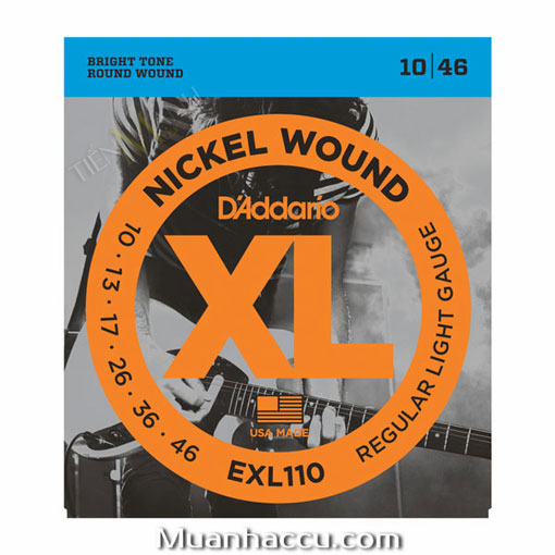 Dây Đàn Guitar Electric DAddario EXL110
