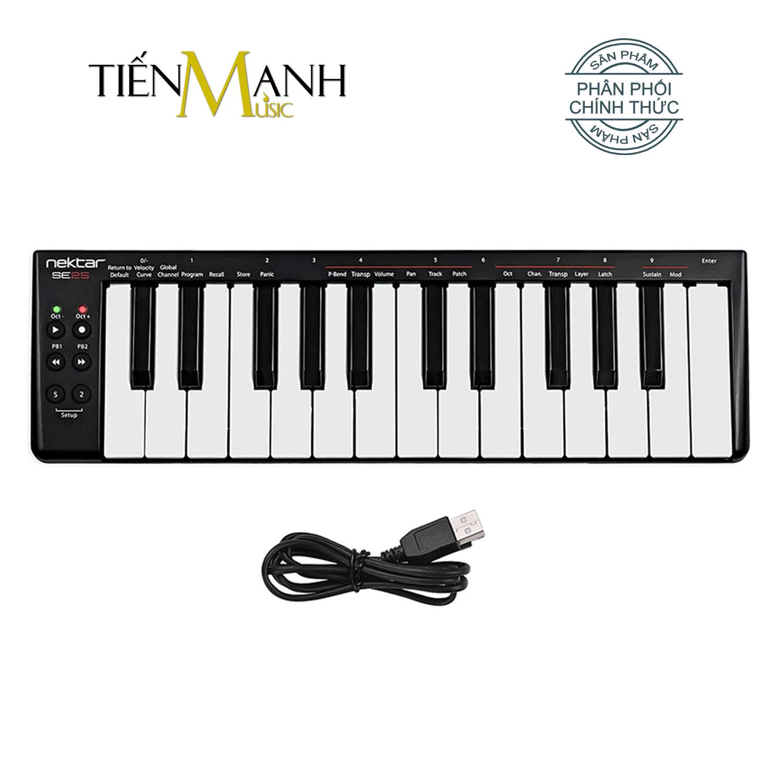 Nektar Impact SE25 Midi Keyboard Controller 25 Phím Cảm ứng lực (Đàn soạn làm nhạc - Sản xuất âm nhạc Producer)