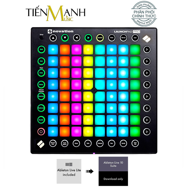 Novation Launchpad Pro MK2 Bàn phím sáng tác - Sản xuất âm nhạc Producer Professional 64-Pad Grid Ableton Live