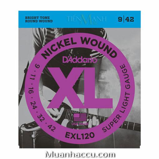 Dây Đàn Guitar Electric DAddario EXL120