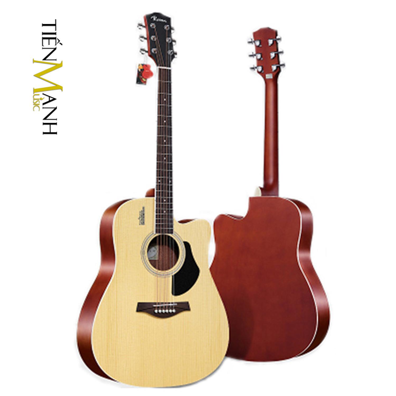Đàn Guitar Acoustic Rosen G11 Màu Gỗ Dáng D (Szie 4)