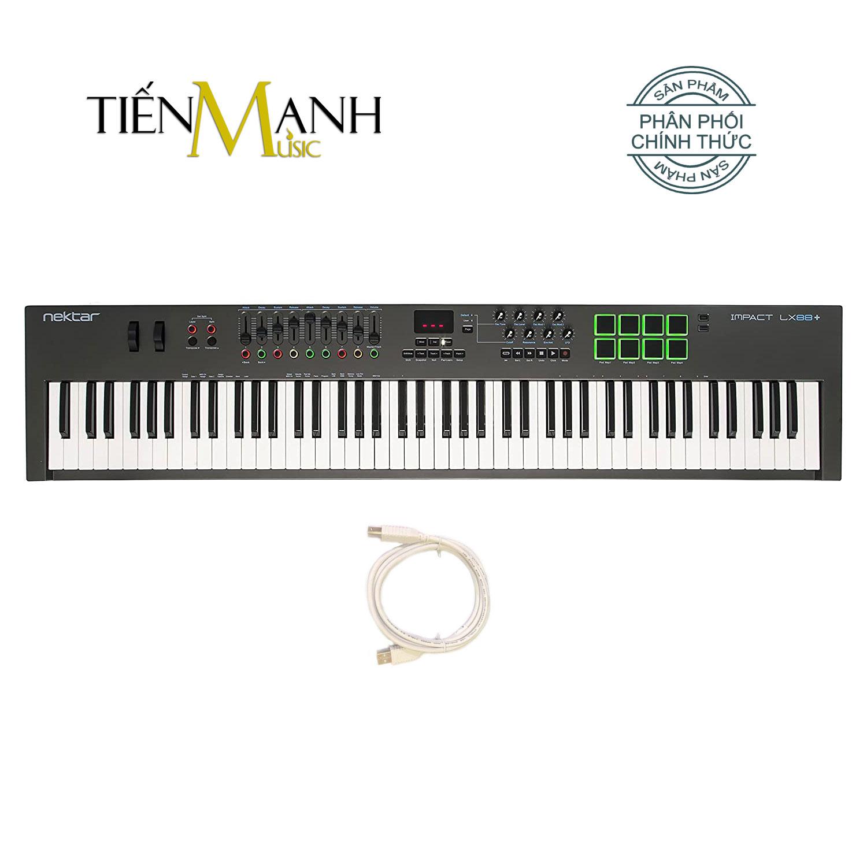 Nektar Impact LX88 Midi Keyboard Controller 88 Phím Cảm ứng lực (Đàn soạn làm nhạc - Sản xuất âm nhạc Producer)