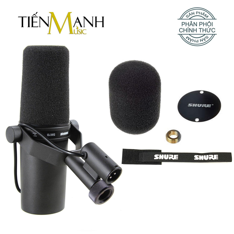 Mic Shure SM7B Micro Thu Âm Phòng Thu Studio Microphone Biểu Diễn Chuyên Nghiệp - Chính Hãng USA