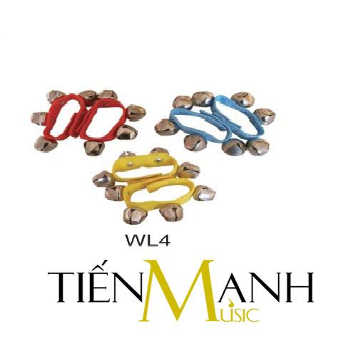 Chuông đeo tay loại 4 chiếc WL4 - Wrist Bells
