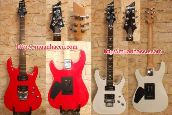 Electric guitar Adonis Red & White