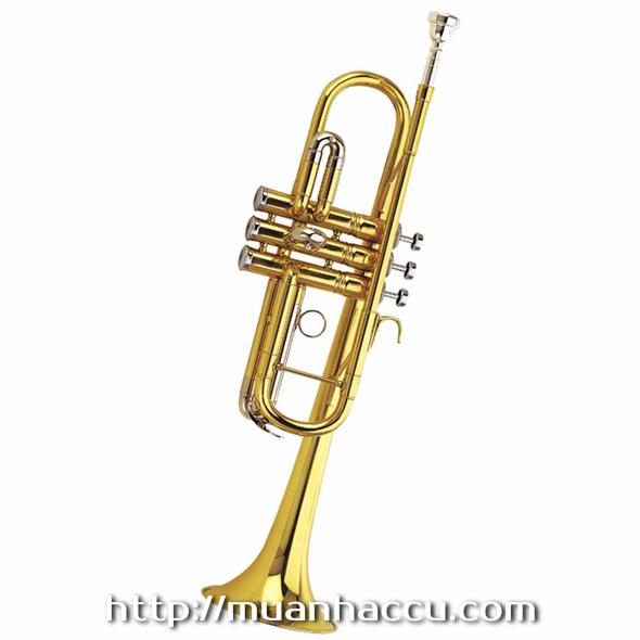 Trumpet C Lacquered & Nickel