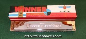 Kèn Harmonica Suzuki Winner 24 lỗ