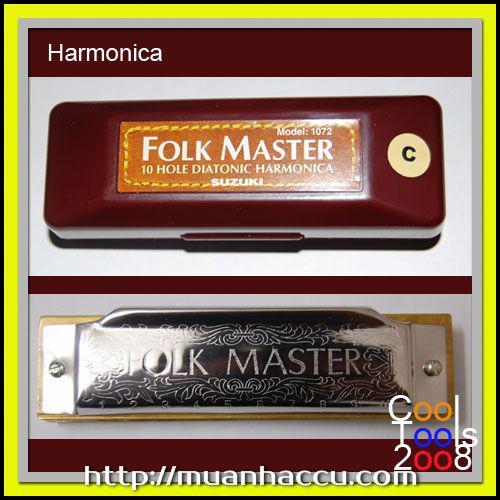 Suzuki Folk Master Hamonica 10 lỗ