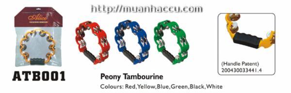 Peony Tambourine