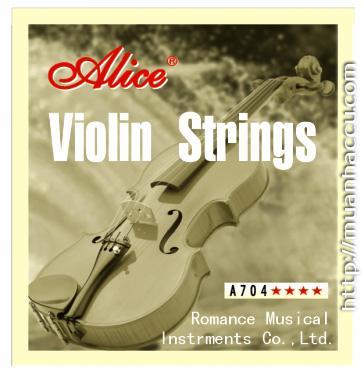 Alice Violin Strings A704