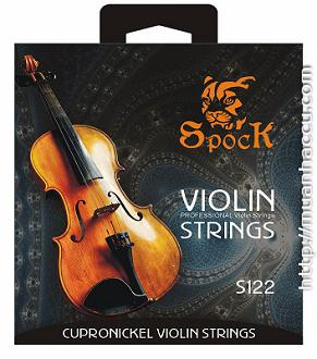 Spock Violin Strings S122