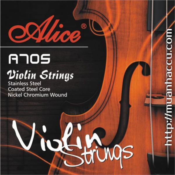 Alice Violin Strings A705