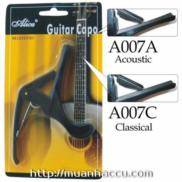 Capo Acoustic Guitar và Classic Guitar A007A - A007C