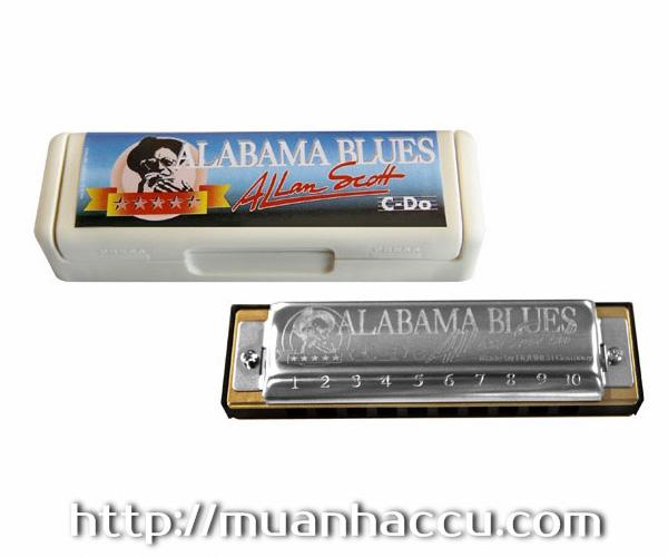 Kèn Harmonica Hohner - Alabama Blues M50201