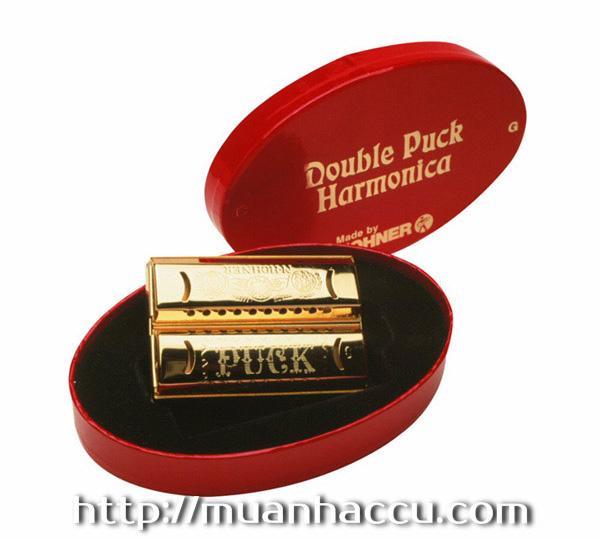 Kèn Harmonica Hohner -  Double Puck (553CG) M55333