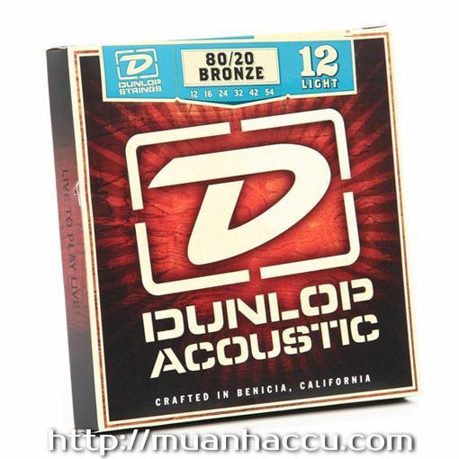 Dunlop Acoustic Strings DAB1254 - 80/20 Bronze - Dây đàn Guitar Dunlop