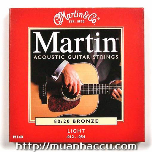 Martin Acoustic Guitar Strings M140 - Dây đàn Guitar Martin