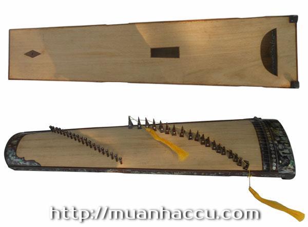 Đàn Tranh 19 dây (khảm trai) TMT30