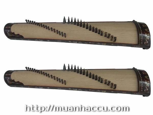 Đàn Tranh 17 dây (khảm trai) TMT07