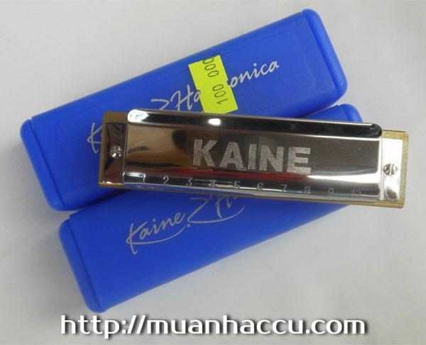Kn Harmonica Kaine K1002 - Kaine Blues Harp Harmonica C key/10 Holes