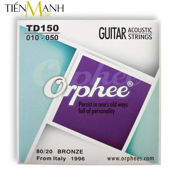 Dây đàn Guitar Acoustic Orphee TD 150
