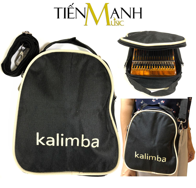 Bao Túi Đựng Đàn Kalimba 17 Phím - 15 Phím - 10 Phím KLB-17 (Có quai đeo và quai xách tiện lợi)