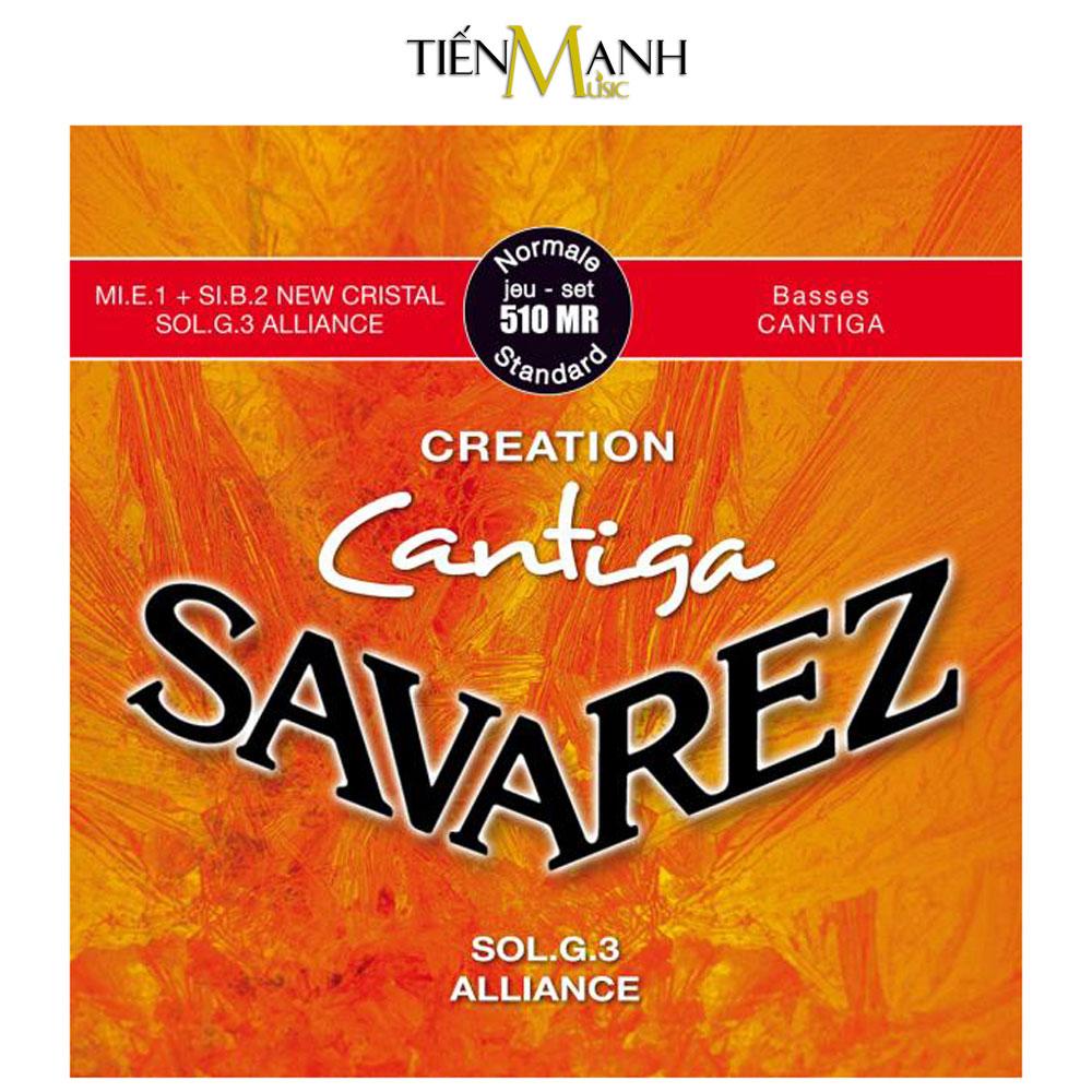 Bộ Dây Đàn Guitar Classic Savarez 510MR