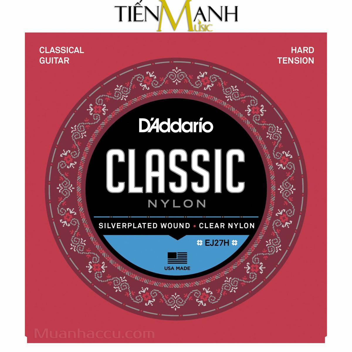 Dây Đàn Guitar Classic DAddario EJ27H