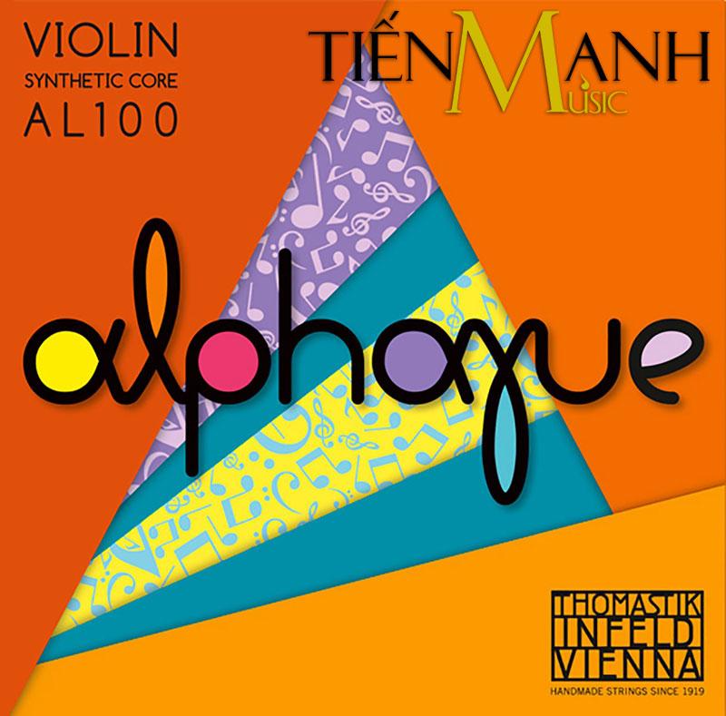 Bộ Dây Đàn Violin 4/4 Thomastik Infeld Alphayue String Set AL100