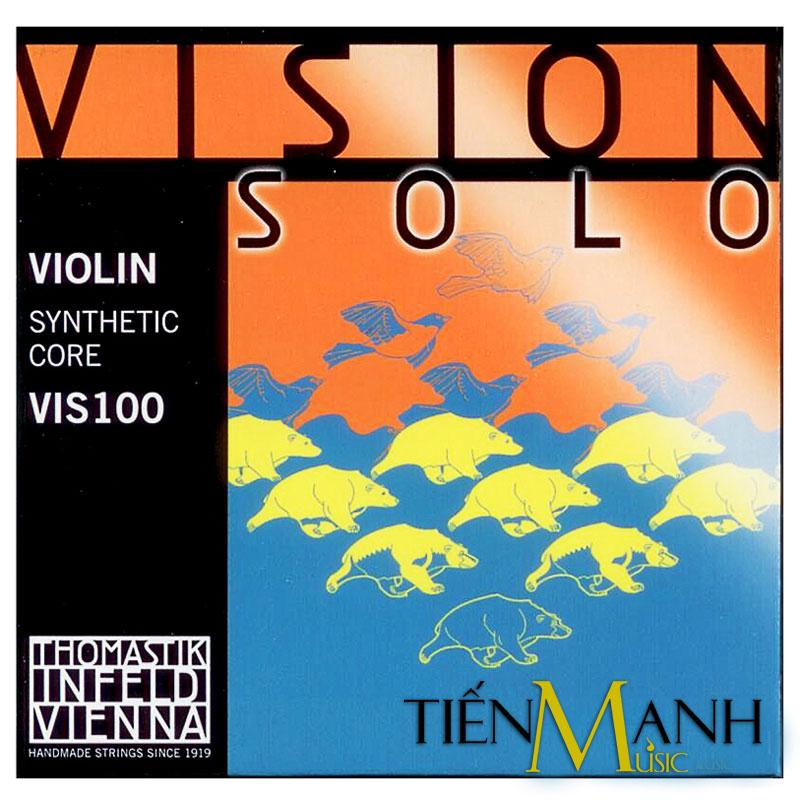 Bộ Dây Đàn Violin 4/4 Thomastilk Infeld Vision Solo VIS100