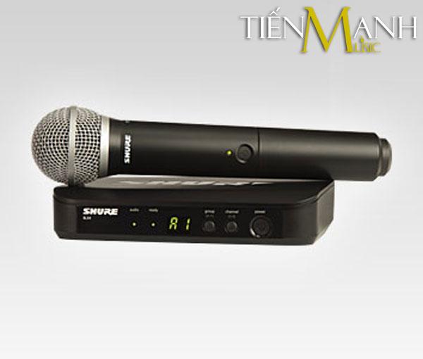 Bộ Micro không dây Shure BLX24A/PG58