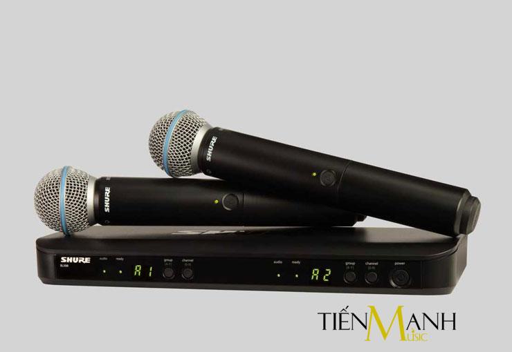 Bộ Micro không dây Shure BLX288A/B58