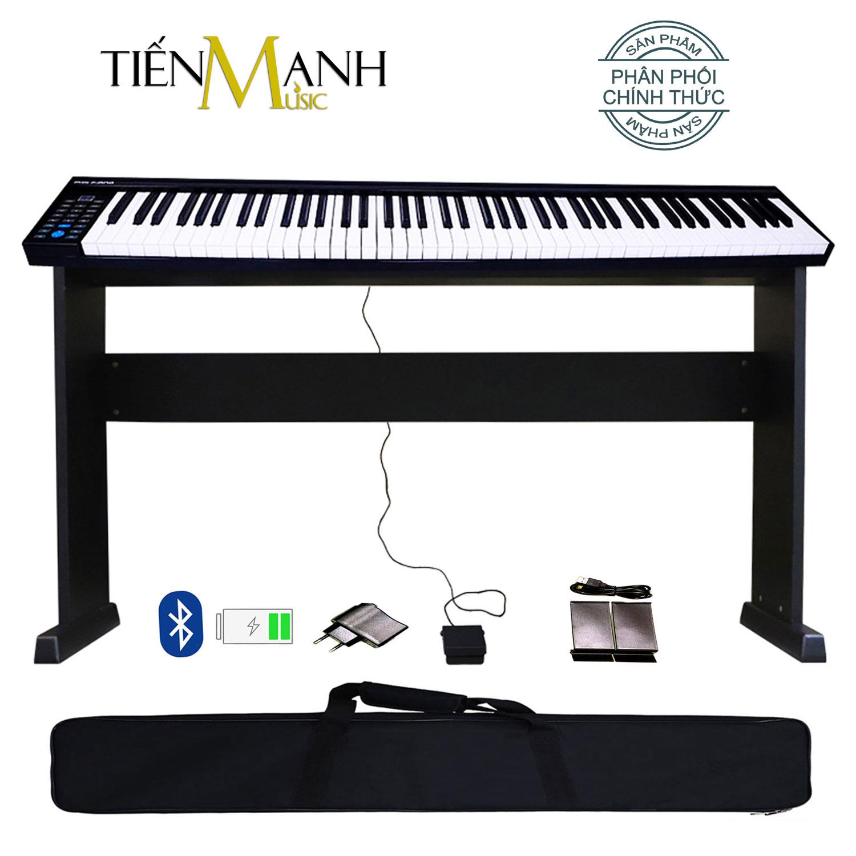 Bộ Đàn Piano Điện Konix PH88 - Kèm Chân Gỗ - 88 Phím nặng Cảm ứng lực PH-88 - Midi Keyboard Controllers