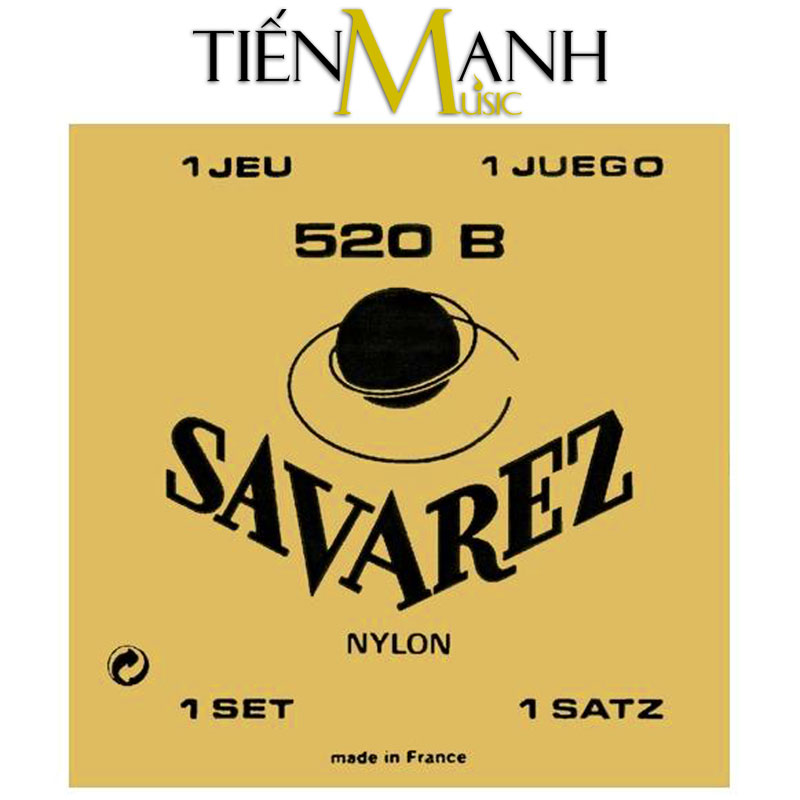 Bộ Dây Đàn Guitar Classic Savarez 520B