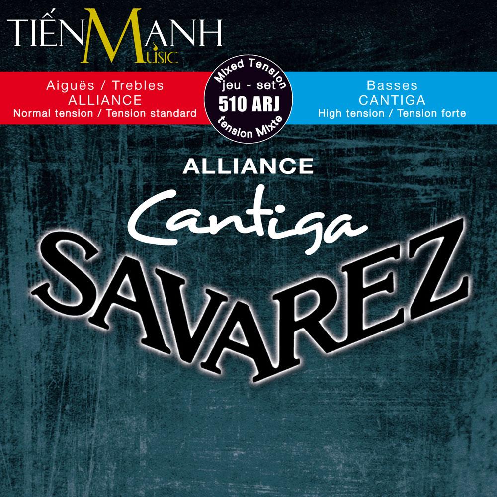 Bộ dây đàn cổ điển Classic Guitar Savarez Mixed Tension 510ARJ