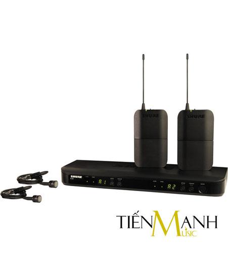 Bộ thu không dây Shure BLX188A/PG85