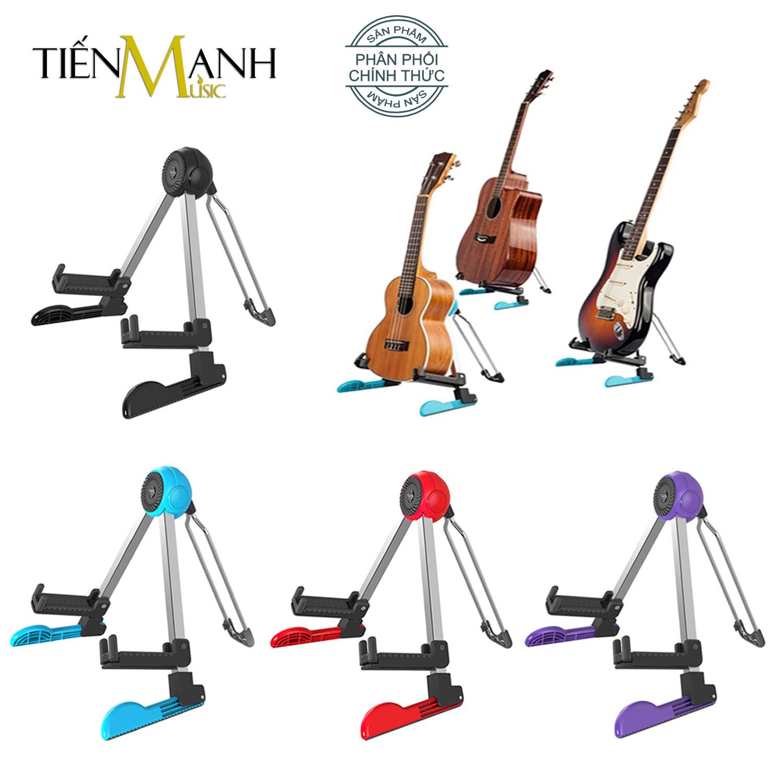 Giá Để Đàn Guitar Gấp Gọn Innox 304 nặng và vững Guitto GGS-03 (GGS03 Stand - Kệ chân đỡ chữ A cho Ghi-ta Bass,Ukulele,Violin, Mandolin) - Chính Hãng