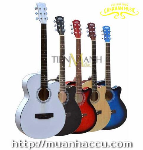 Đàn Guitar Acoustic Caravan HS-3910