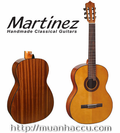 Martinez Classic Guitar MCG-40S