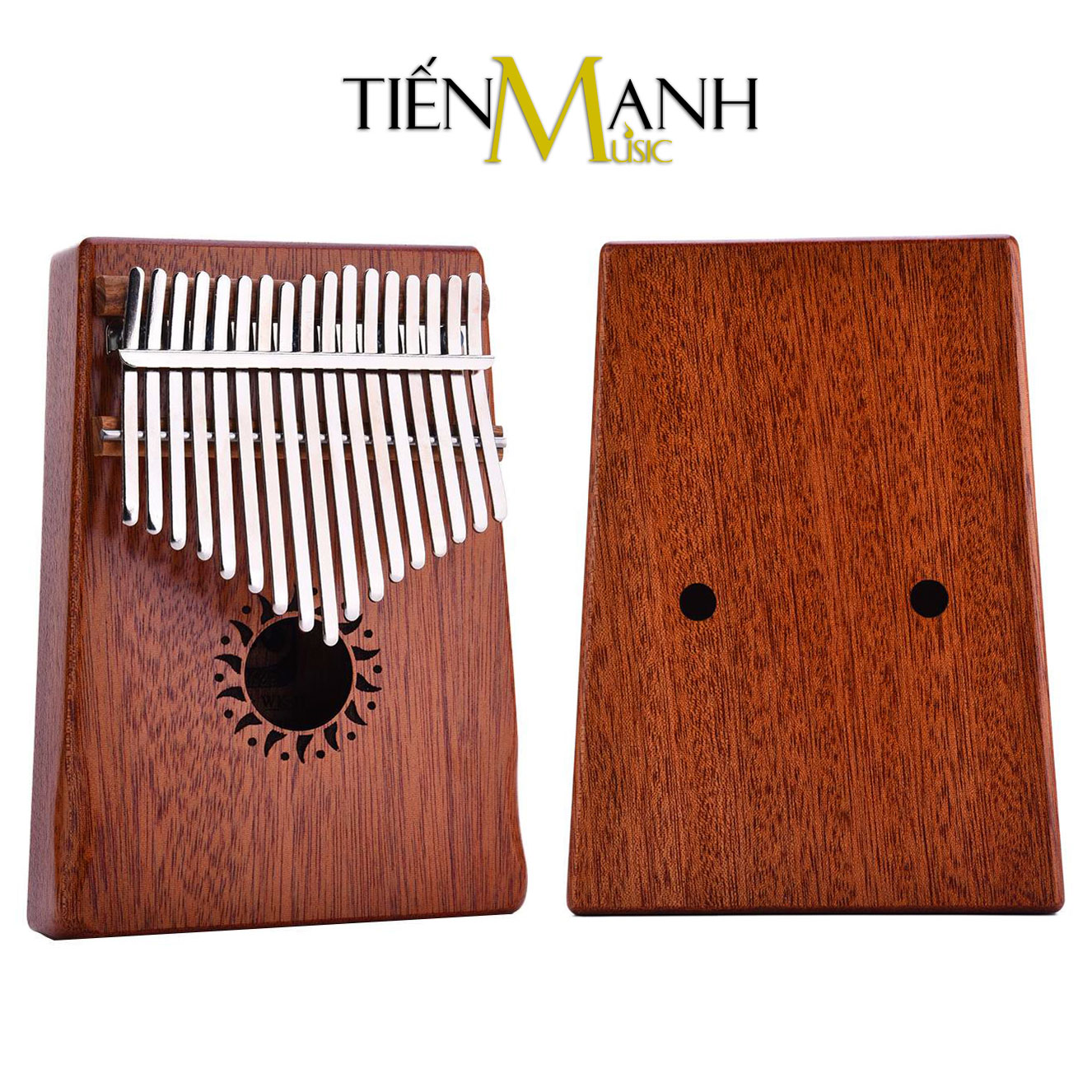 Đàn Kalimba Walter 17 Phím WK-17NM (Gỗ Mahogany - Mbira Thumb Finger Piano 17 Keys)