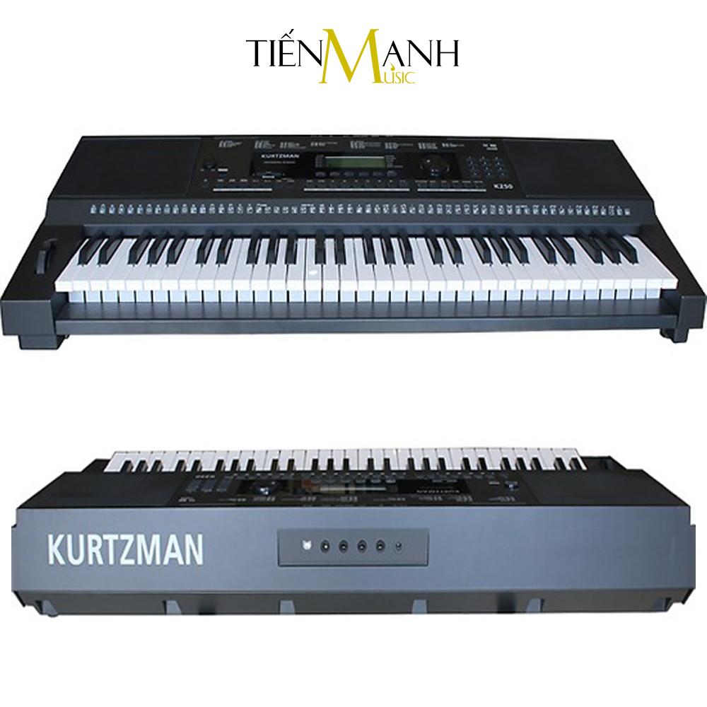 Đàn Organ Kurtzman KZM K250 (Đã cài sẵn Sample, Bàn Phím cảm ứng lực, Có Pitch Bend)