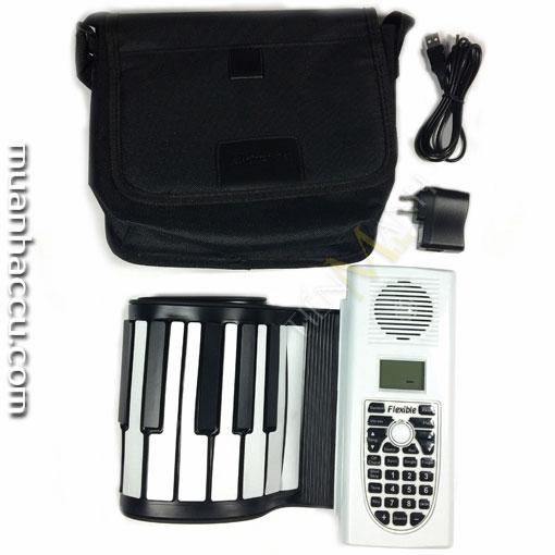 Đàn Piano 61 phím cuộn mềm dẻo Flexible BR-05-61A