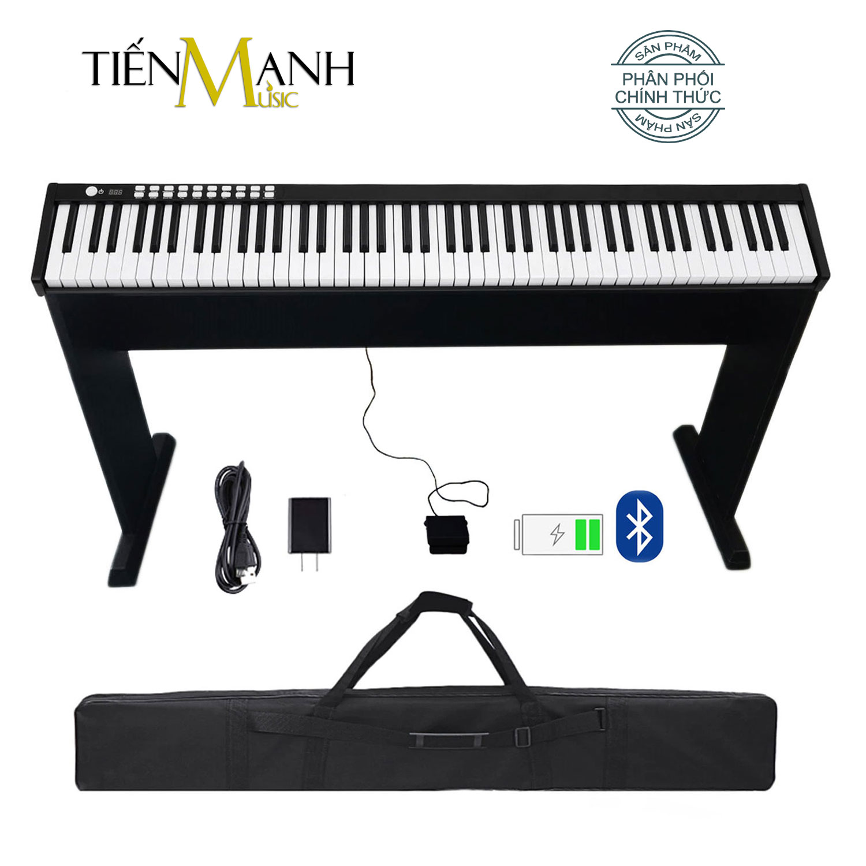 Bộ Đàn Piano Điện Bora BX1A - Kèm Chân Gỗ - 88 Phím nặng Cảm ứng lực Midi Keyboard Controllers BX-1A