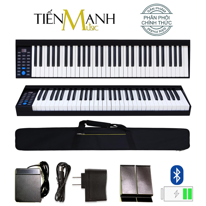 Đàn Piano Điện Konix 61 Phím nặng Cảm ứng lực PH61 - Touch response sensitive keyboard