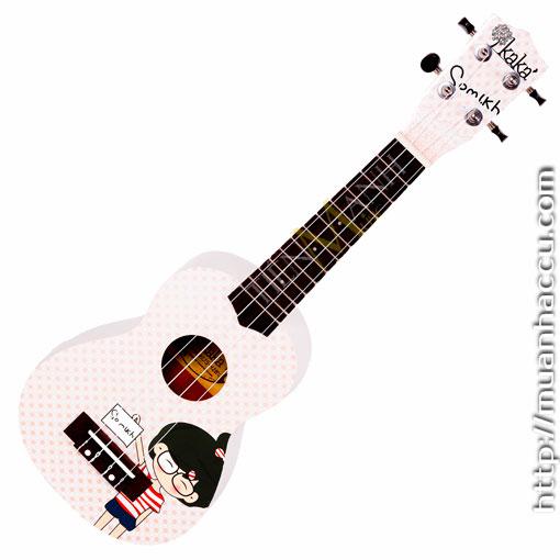 Đàn Ukulele Kaka Soprano KUS-121-LC