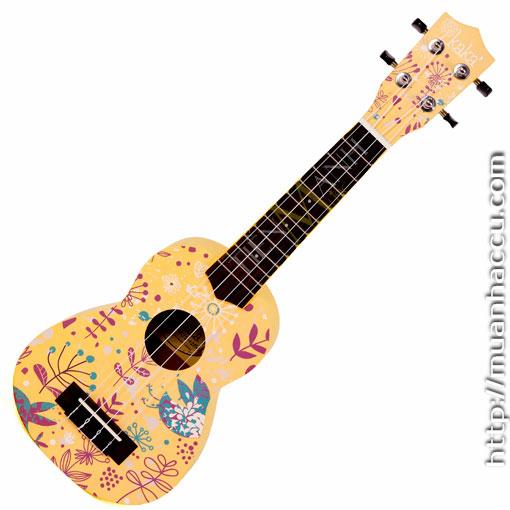 Đàn Ukulele Kaka Soprano KUS-121-YWS