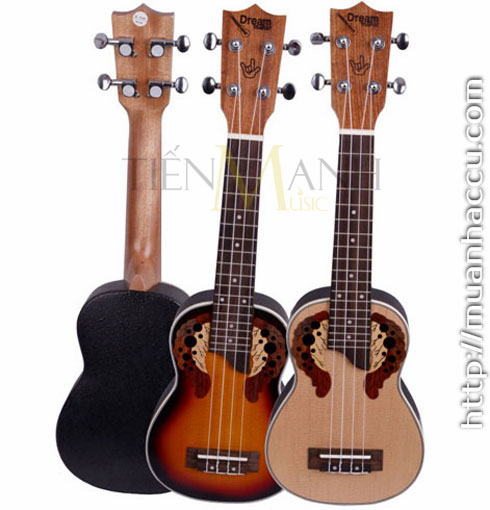 Đàn Ukulele Dream Maker Soprano U21