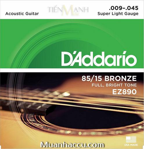 Dây Đàn Guitar Acoustic DAddario EZ890